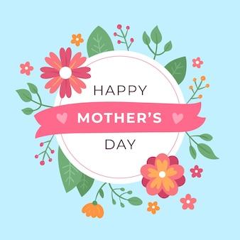 Kwiatowy styl na obchody dnia matki