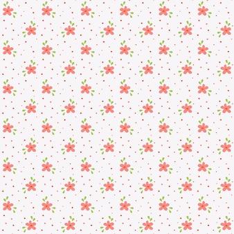 Kwiatowy wzór. bezszwowe tło z małych ręcznie rysowane kwiaty. ilustracja.
