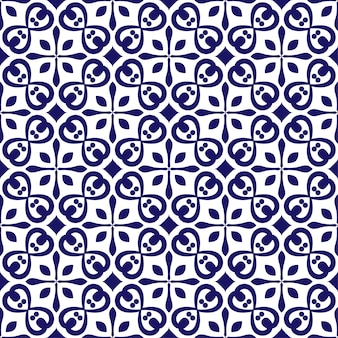 Kwiatowy wzór ceramiczny