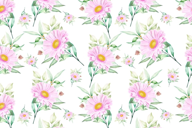 Kwiatowy wzór kwiatowy kwitnący