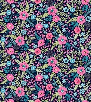 Kwiatowy wzór. ładne kwiaty