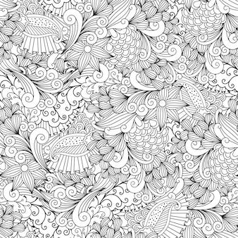 Kwiatowy wzór ozdobny