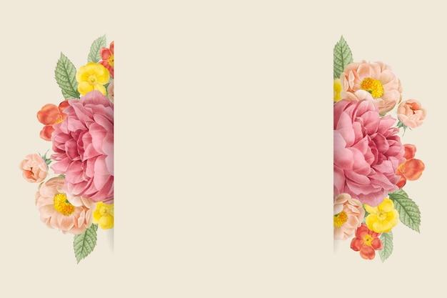 Kwiatowy wzór tła