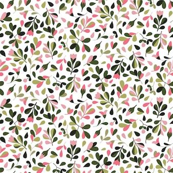 Kwiatowy wzór. wzór. ręcznie rysowane styl