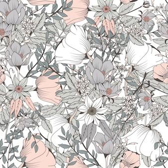 Kwiatowy wzór wzór