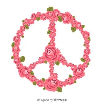 Kwiatowy znak pokoju