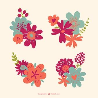 Kwiaty grafiki wektorowej do pobrania za darmo