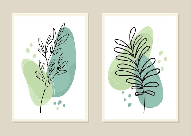 Kwiaty i gałęzie na ścianę