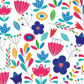 Kwiaty kolorowe backgorund