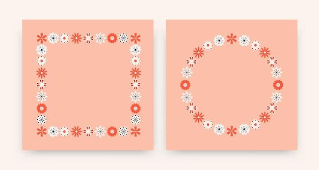 Kwiaty ludowe bezszwowe tło wzór do dekoracji, tapety, papier pakowy, wydruki, plakat.
