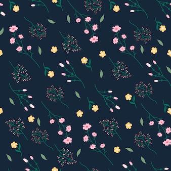 Kwiecisty wzorzysty tło