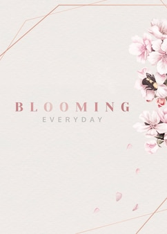Kwitną różowe kwiaty