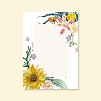 Kwitnący kartkę z życzeniami