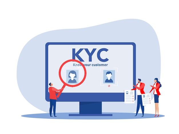 Kycor poznaj swojego klienta z biznesem weryfikując tożsamość jego koncepcji klientów