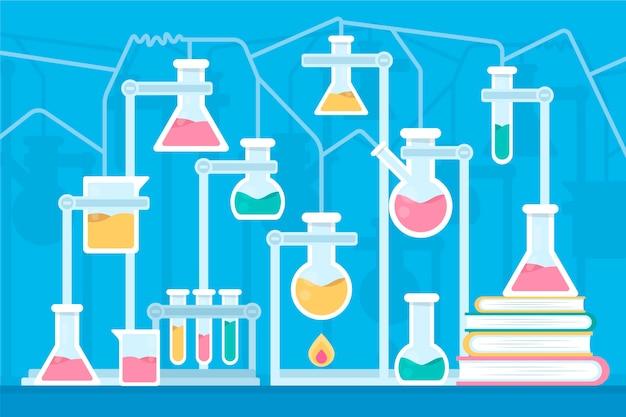 Laboratorium naukowe płaska konstrukcja