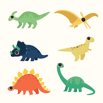 Ładna dinosour ilustracja