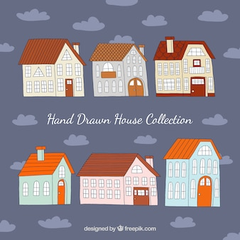 Ładna kolekcja domu ciągnione