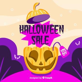 Ładna ręcznie rysowane halloween dynia sprzedaż