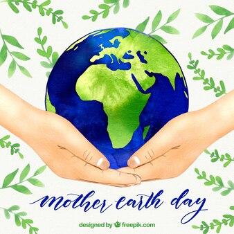 Ładne tło dla matki dzień ziemi