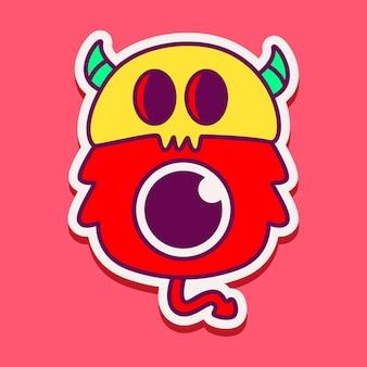 Ładny charakter potwora