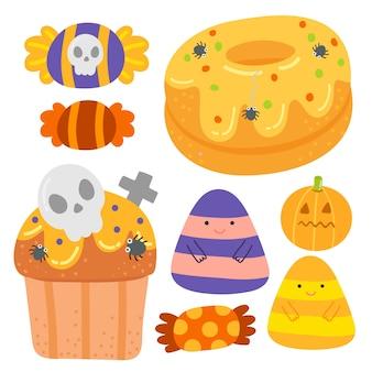 Ładny deser halloween.