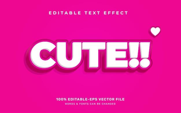 Ładny efekt tekstowy