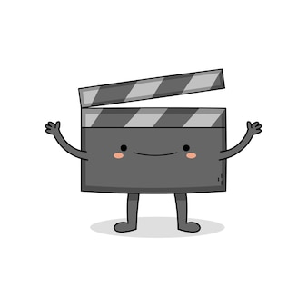 Ładny film grzechotka deska postać z kreskówki
