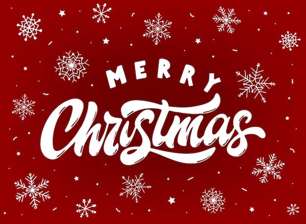 Ładny kartkę z życzeniami wesołych świąt