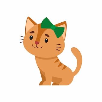 Ładny kot ilustracja