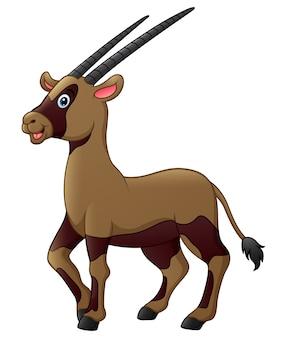 Ładny kreskówka oryx