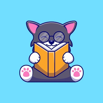 Ładny mały kot ilustracja projekt