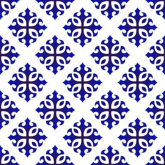 Ładny niebieski wzór