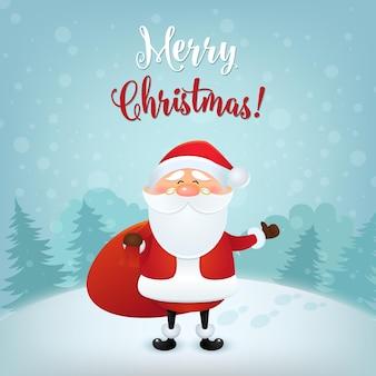 Ładny wektor ikona świętego mikołaja w płaski, kolekcja świąteczna, boże narodzenie i nowy rok znaków w różnych pozach. śmieszny mikołaj z różnymi emocjami. szablon projektu w eps10.