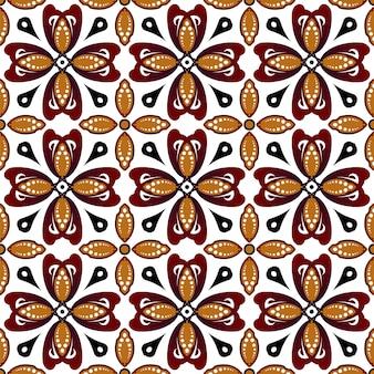 Ładny wzór batiku