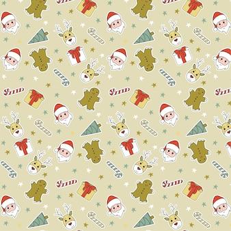 Ładny wzór świąteczny
