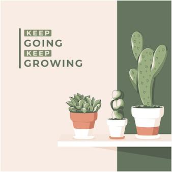 Ładny wzór tła kaktusa
