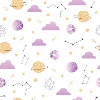 Ładny wzór z magicznej przestrzeni