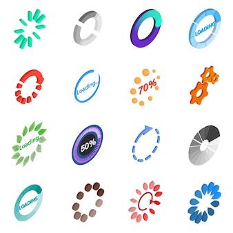 Ładowanie zestaw ikon