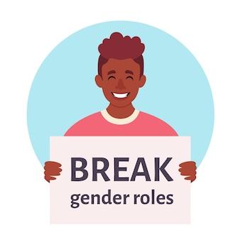 Łamać normy płci ruch neutralny płciowo niebinarny