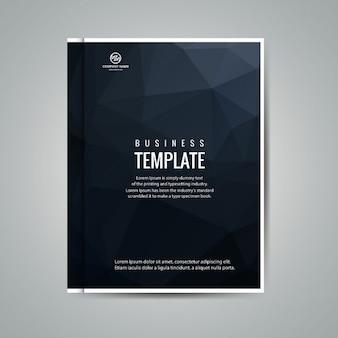 Łamana biznes broszura