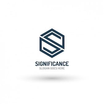 Łamana szablon logo