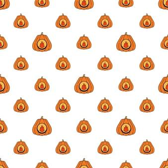 Lampion z dyni na halloween