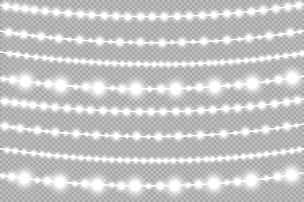 Lampki choinkowe, świecąca girlanda. ledowa lampa neonowa.