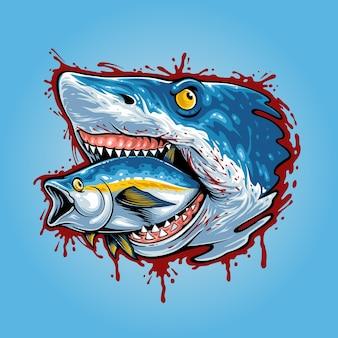 Łańcuch pokarmowy rekina