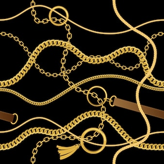 Łańcuchy, liny i pasy.
