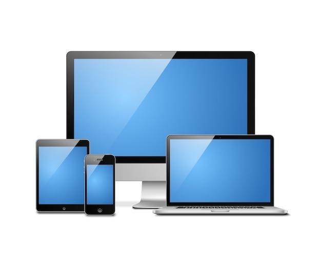 Laptop na tablet mobilny