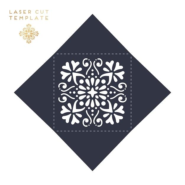 Laserowe cięcie szablonu