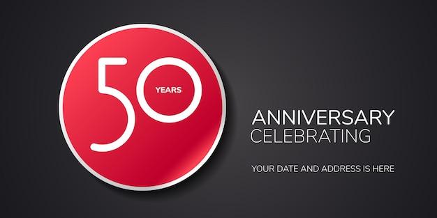 Lat rocznica logo, ikona.