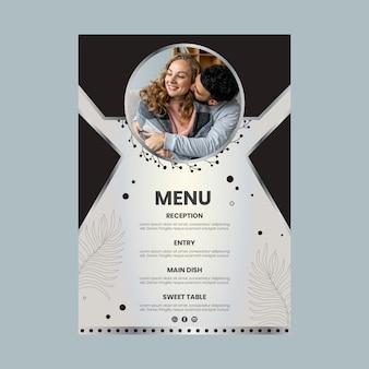 Lata menu rocznicy ślubu