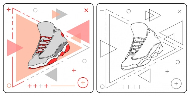 Łatwy do edycji but do kosza